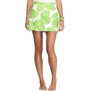 Lilly Pulitzer Tate Skirt Resort White Stinger